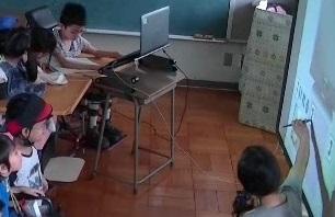 電子黒板でLet's Cooking☆