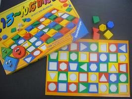 色と形の学習ゲーム