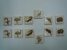動物絵カード(同じ動物を選ぶ)